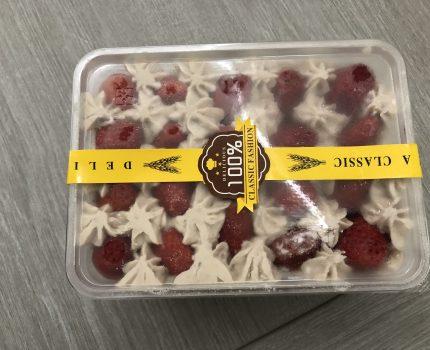 《宜蘭,甜點》梅花民宿322 cafe house,草莓芋泥、雙層草莓卡士達蛋糕